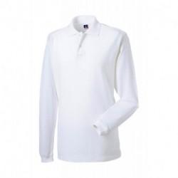 Damska koszulka polo z długim rękawem, PIQUE
