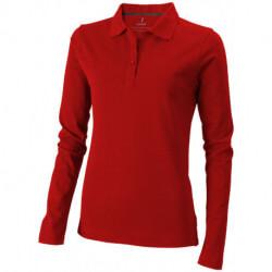 Damska koszulka polo z długim rękawem, OAKVILLE