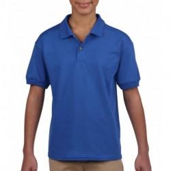 Dziecięca koszulka polo, DRY BLEND® JERSEY