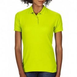 Damska koszulka polo, DRY BLEND® DOUBLE PIQUE
