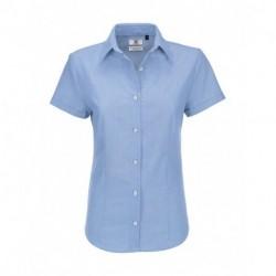 Damska koszula z krótkim rękawem, OXFORD