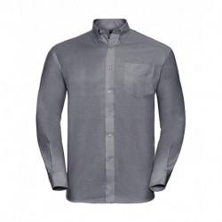 Męska koszula z długim rękawem, OXFORD