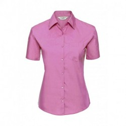 Damska koszula z kieszonką z krótkim rękawem
