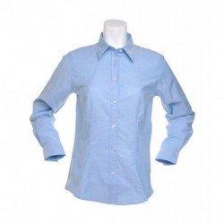 Damska koszula z długim rękawem, OXFORD WORKWEAR