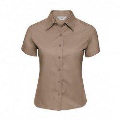 Damska koszula z krótkim rękawem, TWILL