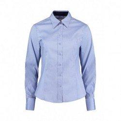 Damska koszula z długim rękawem, CONTRAST PREMIUM OXFORD
