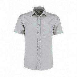 Męska koszula z krótkim rękawem, POPLIN
