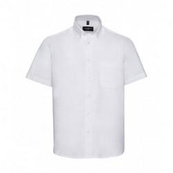 Męska koszula z krótkim rękawem, TWILL