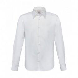 Męska koszula z długim rękawem, LONDON STRETCH SHIRT
