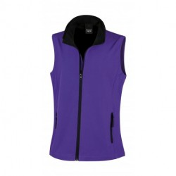 Ladies` Printable Softshell Bodywarmer