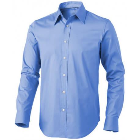 Męska koszula z długim rękawem, HAMILTON