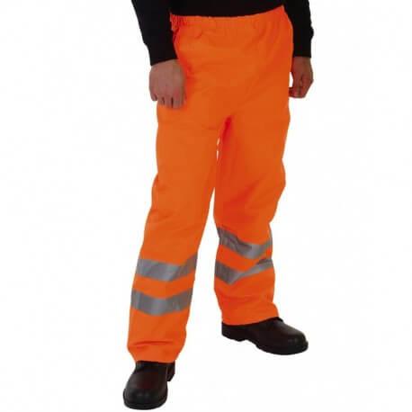 Męskie spodnie odblaskowe, FLUO ORANGE