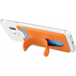 Stue silicone smartphone stand and wallet