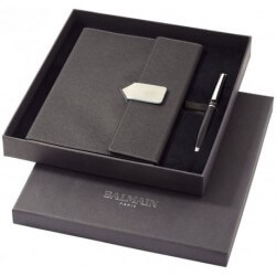 A5 Size Charcoal Notebook Gift Set