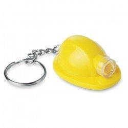 Brelok w kształcie kasku z latarką, MINERO