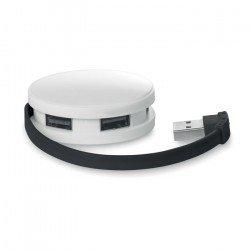 Rozdzielacz USB 4-portowy, ROUNDHUB