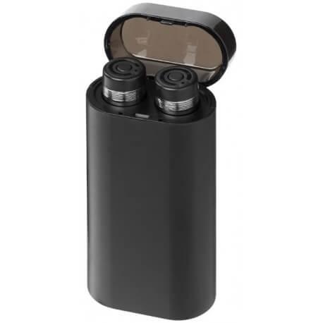 Słuchawki douszne Bluetooth z podświetlanym powerbankiem, GLOW TRUE WIRELESS