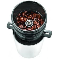 Przenośny ekspres do kawy z młynkiem elektrycznym