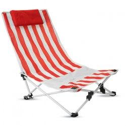 Krzesło plażowe z zagłówkiem, LACANAU
