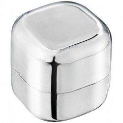 Balsam do ust bez wosku i SPF w metalicznej kostce Rolli