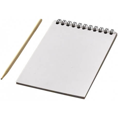 Waynon colourful scratch pad with scratch pen