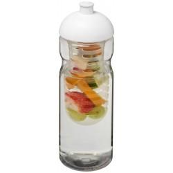Bidon z wypukłym wieczkiem i koszyczkiem na owoce, H2O BASE®