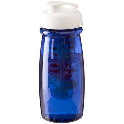 Bidon z wieczkiem zaciskowym i koszyczkiem na owoce, H2O PULSE®