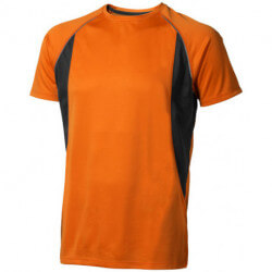 Quebec short sleeve men's cool fit t-shirt