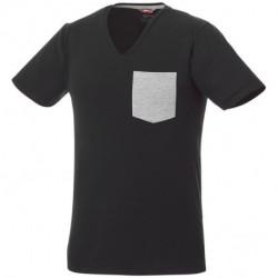 Męski T-shirt z kieszonką, GULLY