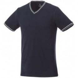 Męski T-shirt pique, ELBERT