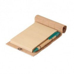 Ekologiczny bambusowy notatnik 80 kartek, CORTINA NOTE