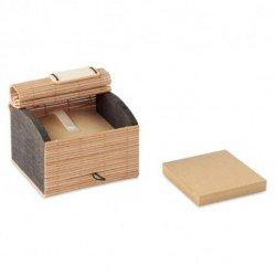 Ekologiczny zestaw 500 kartek z bambusa, CORTINA BLOCK