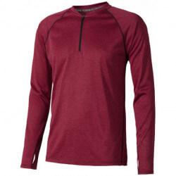 Męski sportowy T-shirt z długim rękawem, QUADRA COOL FIT