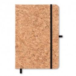 Ekologiczny notatnik A5 z  korkową okładką, SUBER