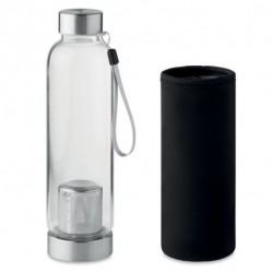 Butelka z zaparzaczem i pokrowcem, UTAH TEA