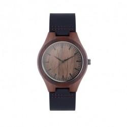 Ekologiczny zegarek ze skórzanym paskiem, SION