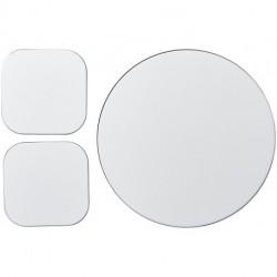 Podkładka pod mysz Brite-Mat® i zestaw podkładek pod naczynia combo 6