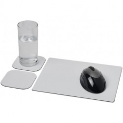 Brite-Mat® mouse mat and coaster set combo 3