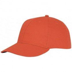 bialy, 6-panelowa czapka Ares