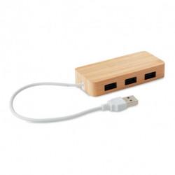 Bambusowy hub USB, VINA