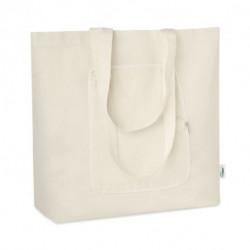 Składana torba na zakupy GRS, ZIGZAG