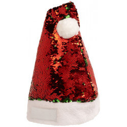 Czapka świąteczna z odwracanymi cekinami, SEQUINS