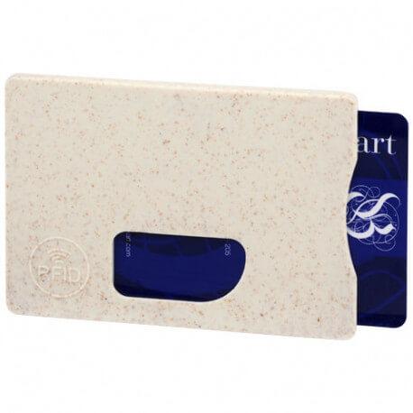 Straw RFID card holder