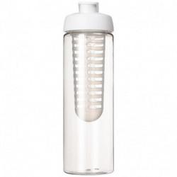 Bidon 850 ml z otwieranym wieczkiem i zaparzaczem, H2O BASE®