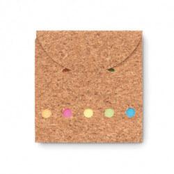 Eko zestaw karteczek memo, FOLDCORK