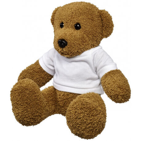 Shrex large plush rag teddy bear with shirt