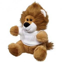 Samba plush lion with shirt