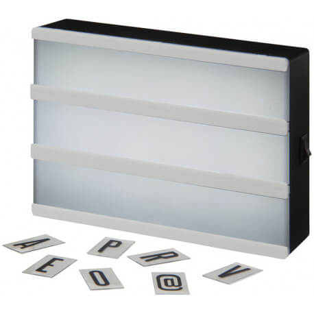 Cinema A5 decorative light box