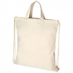 Plecak z recyklingu z bawełnianym sznurkiem ściągającym, PHEEBS