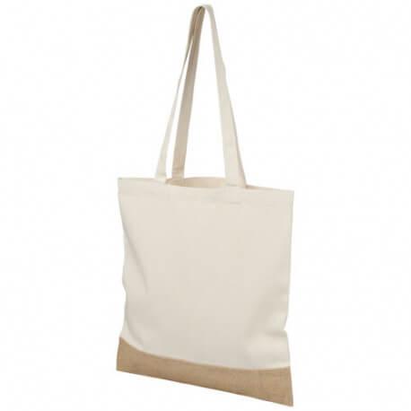 Bawełniano-jutowa torba na zakupy, DELHI